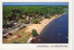 Lacanau.. Le Moutchic.. Belle Vue Aérienne.. La Plage - Sonstige Gemeinden