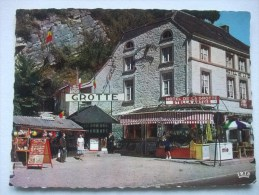 H80 Postkaart Remouchamps - Entree Des Grottes - Aywaille