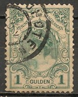 Timbres - Pays-Bas - 1898/1914 - 1 Gulden - - Used Stamps