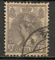 Timbres - Pays-Bas - 1898/1914 - 10 Cents - - Used Stamps