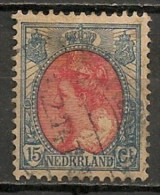 Timbres - Pays-Bas - 1898/1914 - 15 Cents - - Used Stamps