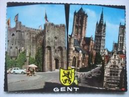 H81 Postkaart Aandenken Aan Gent - Gent
