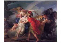 Venus Wounded Diomedes Iris Painting Postcard Joseph-Marie Vien Rainbow - 6403 - Pittura & Quadri
