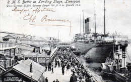 - CPA - LIVERPOOL - R.M.S. - Baltic At Landing Stage 792 - Inglaterra