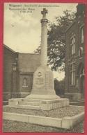 Wijgmaal - Standbeel Der Gesneuvelden  - 1939 ( Verso Zien ) - Leuven