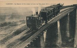LANGRES - Chemin De Fer Reliant La Gare à La Ville - Langres
