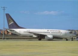 Air-astana, Boeing 737-7Q8, Unused Postcard [14913] - 1946-....: Moderne