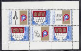 Bulgaria MNH Scott #3641 Minisheet Of 3 Plus Labels 86s Cologne '91 International Philatelic Exhibition - Bulgarie