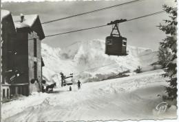 SAINT GERVAIS LES BAINS - Des Bettex, Départ De La Cabine Du Téléférique Pour Le Mont D'Arbois - Saint-Gervais-les-Bains