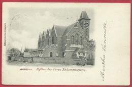 Roeselare / Roulers - Eglise Des Pères Rédemptoristes - 1902 ( Verso Zien ) - Roeselare