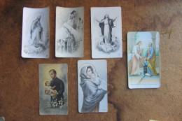 LOTTO 6 RAFFIGURAZIONI SACRE_SANTINI_IMMAGINI RELIGIOSE_PREGHIERE_MADONNA CON BAMBINO_COMUNIONE_S.GAETANO - Religión & Esoterismo