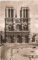 POSTAL DE PARIS DE LA FACHADA DE NOTRE-DAME (EDITIONS D'ART) (FRANCIA-FRANCE) - Notre Dame De Paris