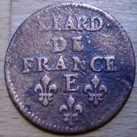 LIARD DE FRANCE LOUIS XIV 1656 E TB++ !!! - 1643-1715 Louis XIV Le Grand