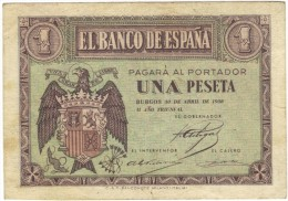 1 PTA DEL 30 DE ABRIL 1938 - [ 3] 1936-1975 : Régence De Franco