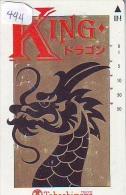 Télécarte JAPON * ZODIAQUE * DRAGON * HOROSCOPE (444)  PHONECARD JAPAN * TK * DRACHE * HOROSCOPE * STERNZEIGEN - Zodiac