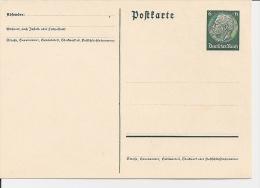 DR P 226 ** 6 Pf Hindenburg Medaillon - Ganzsachen