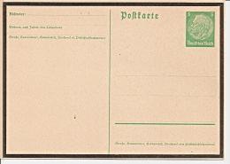 DR P 234a ** 5 Pf Hindenburg Medaillon Trauerkarte - Ganzsachen