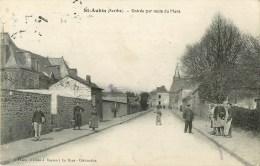 72 - St-Aubin - Entrée Par La Route Du Mans - Voir Scan - - Zonder Classificatie