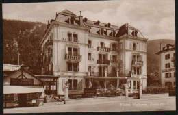 Hotel Victoria - Zermatt - Real Photo Postcard - VS Valais