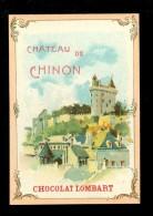 Chromo ( 3643 )  Chocolat  LOMBART  Paris  - Chateau - Lombart