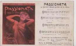 CHANSON-PASSIONATA-Revue Du Moulin Rouge-Siever éditeur - Entertainment