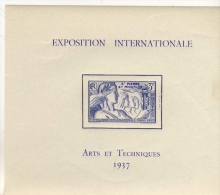 COLONIE     24 BLOCS - 1937 Exposition Internationale De Paris