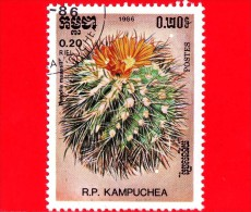 KAMPUCHEA - Cambogia - 1985 - Cactus - Parodia Maassii - 0.20 - Kampuchea