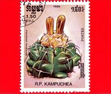 KAMPUCHEA - Cambogia - 1985 - Cactus - Discocactus Silichromus - 1.50 - Kampuchea