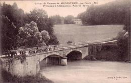 C 11298 - Colonie De Vacances De MENESTRUEL Par PONCIN - 01- Pont De Suran -  Belle CPA - 1912 - Trés Rare - - Otros Municipios