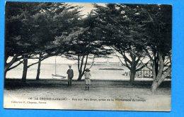 NOV472, Le Croisic, Animée, Pen Bron, Promenade Du Lénigo, Circulée 1912 - Le Croisic