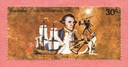 AUS  SC #482 MNH 1970 Captain Cook - 1966-79 Elizabeth II