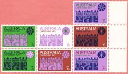 AUS SC #508 MNH B7  1971 Christmas CV $35.00 - 1966-79 Elizabeth II