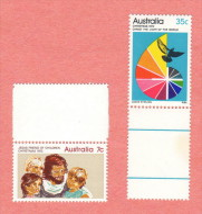 AUS SC #539-40 MNH  1972 Christmas CV $6.85 - 1966-79 Elizabeth II