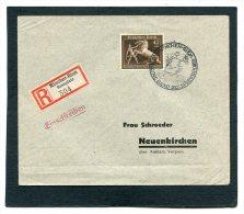 Deutsches Reich Brief Einschreiben 1939 Das Braune Band Usw - Germania