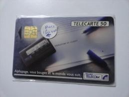 RARE : PUCE DE 120U SUR ALPHAPAGE TELECARTE 50U  NRSERIE 380179218 - Variëteiten