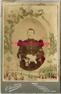 Cabinet Colorisé- Soldat 106e Régiment D'infanterie-photo C. Odinot à Nancy - War, Military