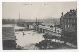 ELBEUF - La Crue De La Seine - Pont De Fer - Elbeuf