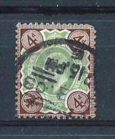 GB61) GRAN BRETAGNA 1902-EFFIGIE EDOARDO VII - S.G N.235 - 1902-1951 (Re)