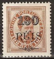 Portuguese Guine - 1902 King Carlos Surcharged - Portuguese Guinea