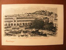 CPA Santiago De Compostela ? Santiago De Chile ? España ? Chile ? Plaza Principal - Place Principale - Postcards