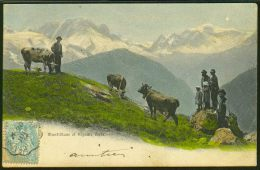 Mont-Blanc Et Aiguille Verte - France