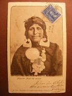 CPA Chile / Chili - Mapuche Mujer De Cacique - Indio, India - Indien D´Amérique Du Sud 1905 - Chile