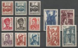 Deutschland / Saar / Sarre / Saargebiet Mi.239/51 Complete Set MNH / ** 1948 Mi: 42€ - 1947-56 Occupation Alliée