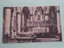 Koor Van Ste - Dimphnakerk Gheel () - Anno 19?? ( Zie Foto Details ) !! - Geel
