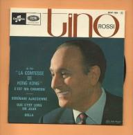 "45 T COLUMBIA: Tino Rossi, Film "" La Contesse De Hong-Kong "" - Filmmusik"