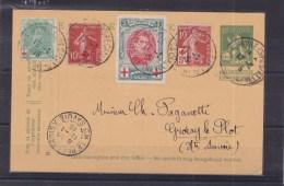 Post Entier   Kaart 199 - 1914-1915 Croix-Rouge
