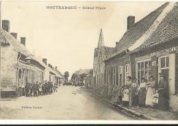 HOUTKERQUE-Grand'place    169 - Non Classés