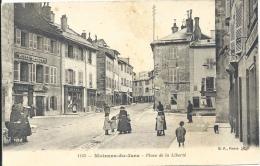 39 - MOIRANS-DU-JURA - Jura - Place De La Liberté - Other Municipalities