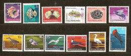 Cocos Keeling Islands 1969 Yvertn° 8-19 *** MNH Cote 20 Euro Faune Oiseaux Vogels E A - Cocos (Keeling) Islands