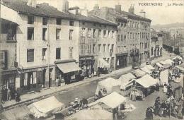 42 - TERRENOIRE - Loire - Le Marché - Zonder Classificatie